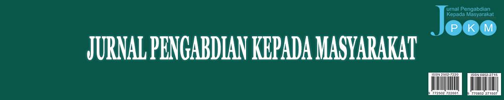 JURNAL PENGABDIAN KEPADA MASYARAKAT