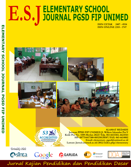 Cover Jurnal Elementary School